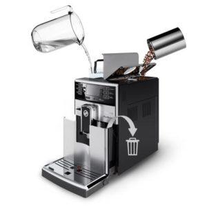 kavos aparato prieziura